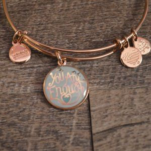 """Alex and Ani - """"You are enough"""" - Bracelet"""